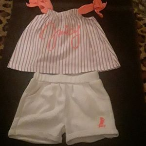 Juicy Couture baby Outfit ,Sz 3-6 Mo.